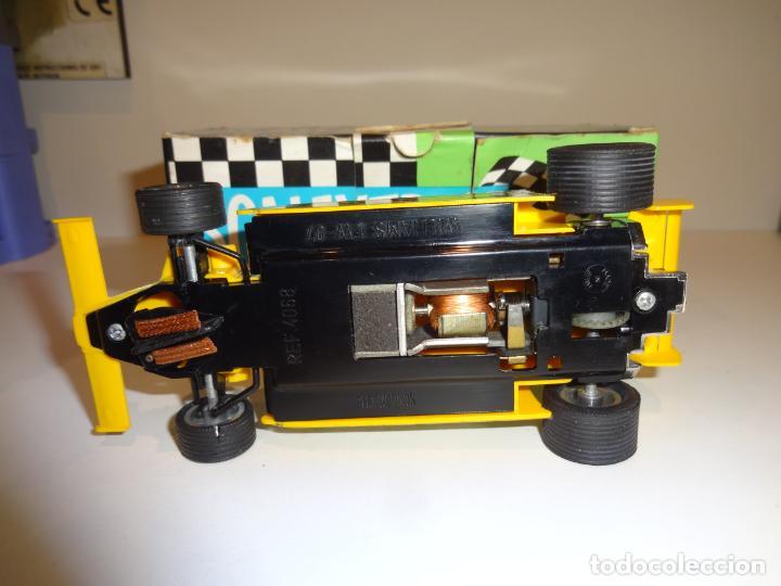 Scalextric: Scalextric. Williams FW-07 F1 Amarillo. Ref. 4068 - Foto 5 - 194083405