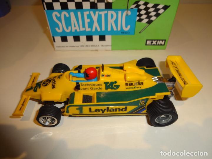 Scalextric: Scalextric. Williams FW-07 F1 Amarillo. Ref. 4068 - Foto 6 - 194083405