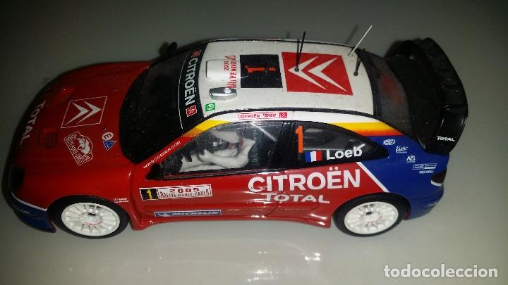 SCALEXTRIC CITROËN XSARA LOEB (Juguetes - Slot Cars - Scalextric Exin)