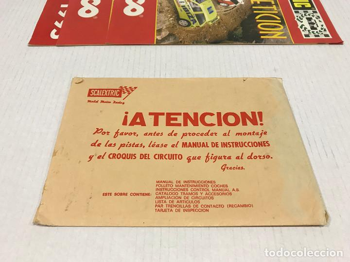 Scalextric: Lote de 11 sobres originales de Scalextric Exin. Salen a 2,5 € el sobre - Foto 4 - 194241570