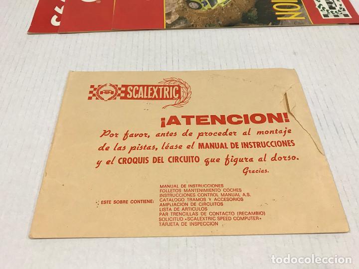 Scalextric: Lote de 11 sobres originales de Scalextric Exin. Salen a 2,5 € el sobre - Foto 6 - 194241570