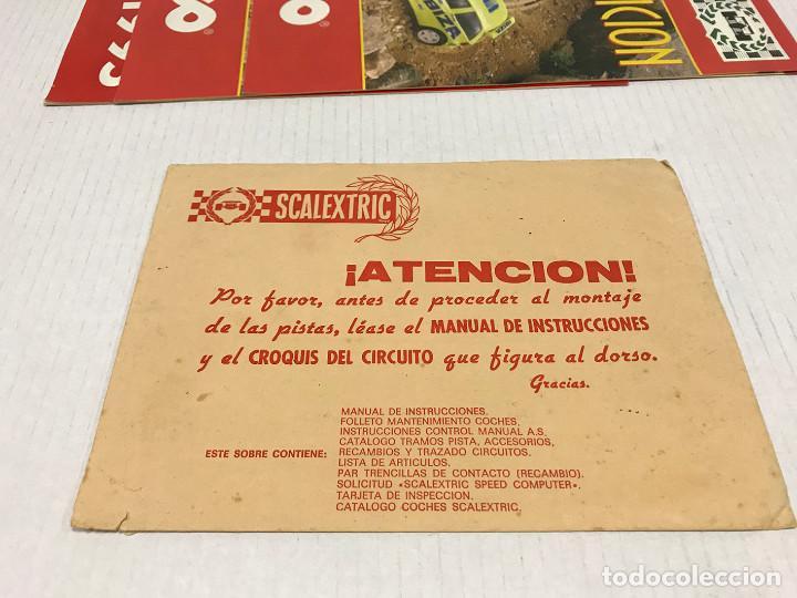 Scalextric: Lote de 11 sobres originales de Scalextric Exin. Salen a 2,5 € el sobre - Foto 8 - 194241570