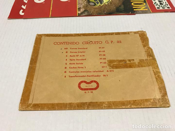 Scalextric: Lote de 11 sobres originales de Scalextric Exin. Salen a 2,5 € el sobre - Foto 9 - 194241570