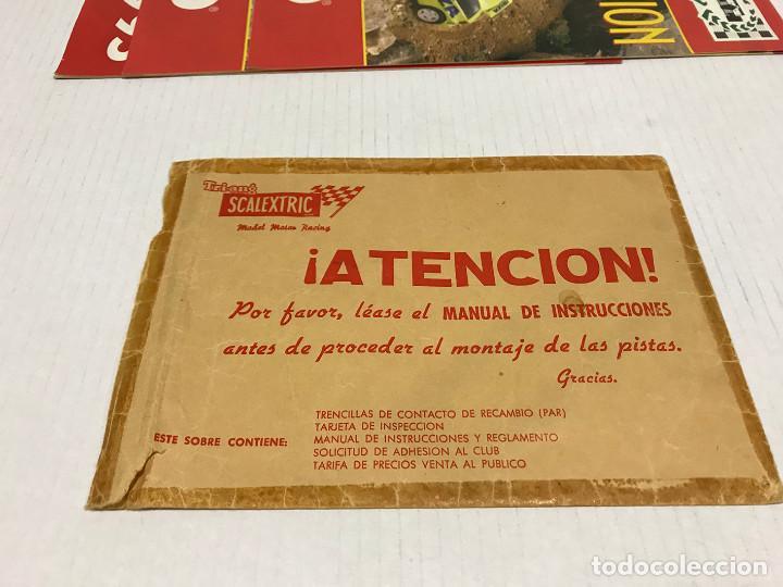Scalextric: Lote de 11 sobres originales de Scalextric Exin. Salen a 2,5 € el sobre - Foto 10 - 194241570