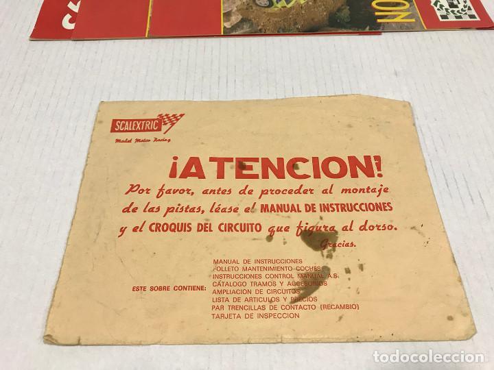 Scalextric: Lote de 11 sobres originales de Scalextric Exin. Salen a 2,5 € el sobre - Foto 12 - 194241570