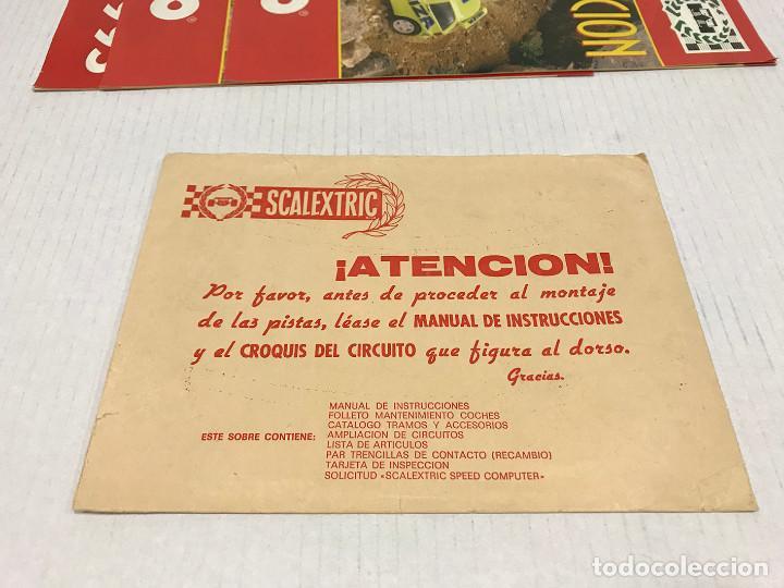 Scalextric: Lote de 11 sobres originales de Scalextric Exin. Salen a 2,5 € el sobre - Foto 14 - 194241570