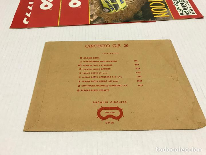Scalextric: Lote de 11 sobres originales de Scalextric Exin. Salen a 2,5 € el sobre - Foto 15 - 194241570