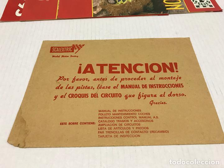 Scalextric: Lote de 11 sobres originales de Scalextric Exin. Salen a 2,5 € el sobre - Foto 16 - 194241570