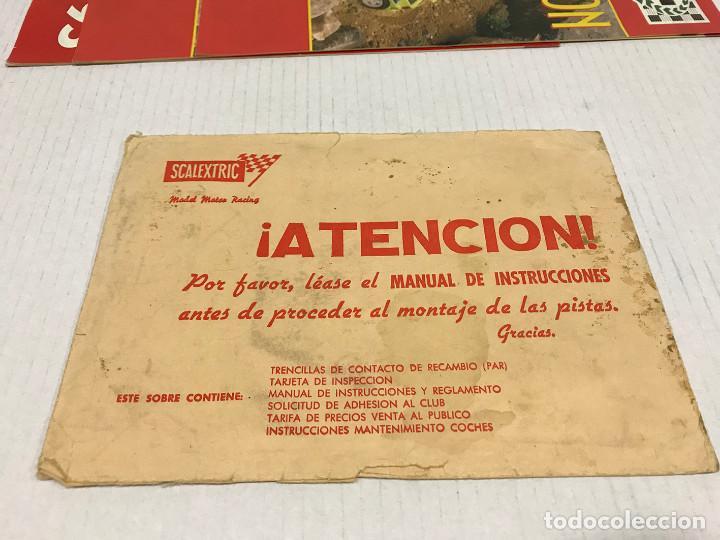 Scalextric: Lote de 11 sobres originales de Scalextric Exin. Salen a 2,5 € el sobre - Foto 18 - 194241570
