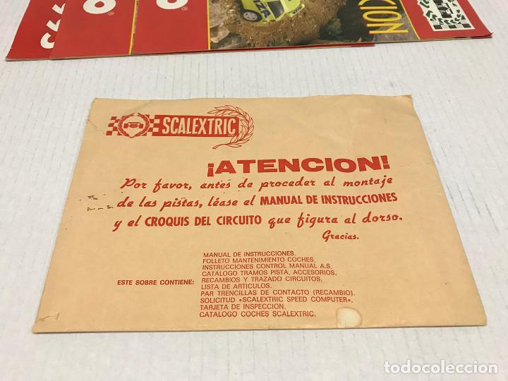 Scalextric: Lote de 11 sobres originales de Scalextric Exin. Salen a 2,5 € el sobre - Foto 20 - 194241570