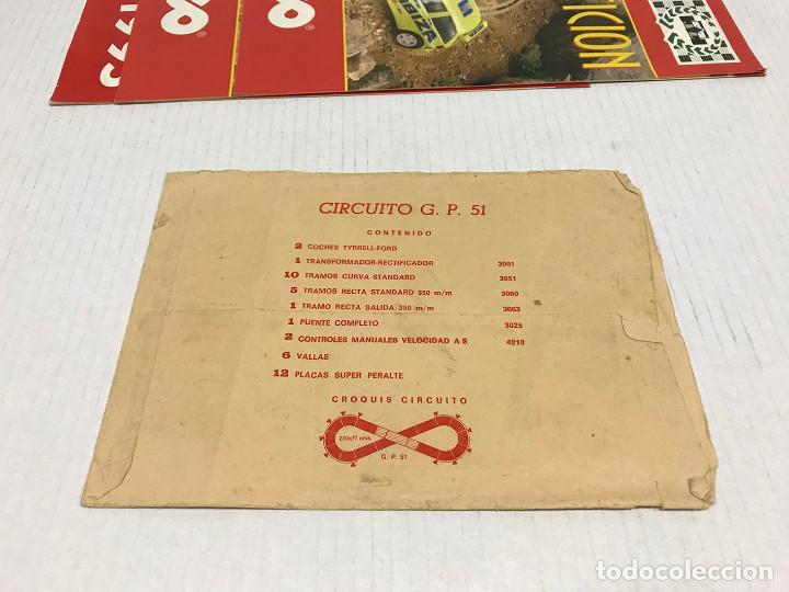 Scalextric: Lote de 11 sobres originales de Scalextric Exin. Salen a 2,5 € el sobre - Foto 21 - 194241570