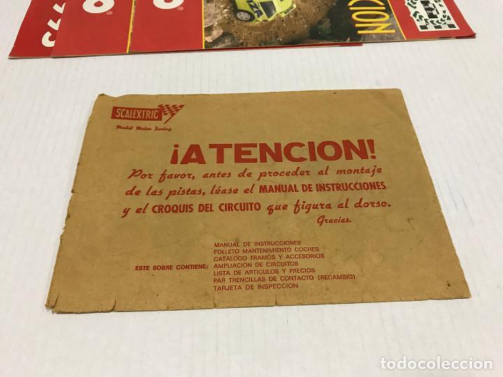 Scalextric: Lote de 11 sobres originales de Scalextric Exin. Salen a 2,5 € el sobre - Foto 24 - 194241570