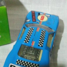 Scalextric: ~~~~ SCALEXTRIC FORD GT, AZUL, REF. C-35, AÑOS 70. ~~~~. Lote 194254617