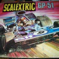 Scalextric: SCALEXTRIC EXIN GP-51 EN SU CAJA AÑOS 70 CASI COMO NUEVO VER FOTOS. Lote 194272005