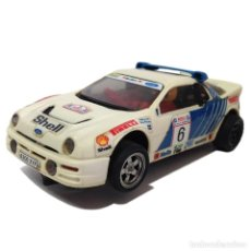 Scalextric: EXIN FORD RS200 SCALEXTRIC SCX SLOT CAR USADO. Lote 194303433