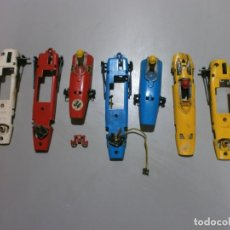 Scalextric: LOTE DESGUACE SCALEXTRIC EXIN SPAIN BRM C-37 HONDA C-36 . Lote 194305005