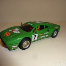 Scalextric: SCALEXTRIC. EXIN. FERRARI GTO VERDE 7UP. Lote 194331216