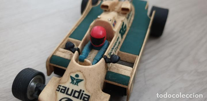 Scalextric: WILLIAMS FW07 FW-07 BLANCO ORIGINAL DE EXIN DEFECTUOSO - Foto 2 - 194343015