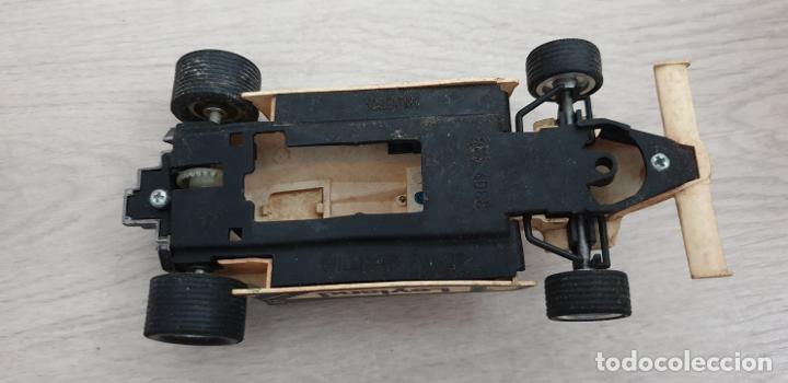 Scalextric: WILLIAMS FW07 FW-07 BLANCO ORIGINAL DE EXIN DEFECTUOSO - Foto 6 - 194343015