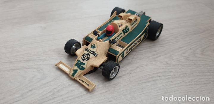 WILLIAMS FW07 FW-07 BLANCO ORIGINAL DE EXIN DEFECTUOSO (Juguetes - Slot Cars - Scalextric Exin)