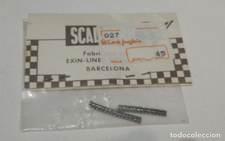 Scalextric: Scalextric Exin Par de trencillas contacto ref. 5180 - Foto 2 - 194356362