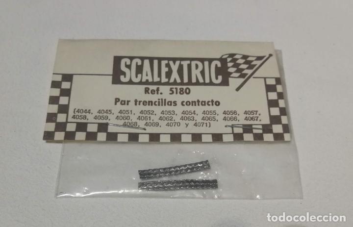 SCALEXTRIC EXIN PAR DE TRENCILLAS CONTACTO REF. 5180 (Juguetes - Slot Cars - Scalextric Exin)