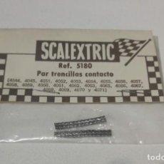 Scalextric: SCALEXTRIC EXIN PAR DE TRENCILLAS CONTACTO REF. 5180. Lote 194356362