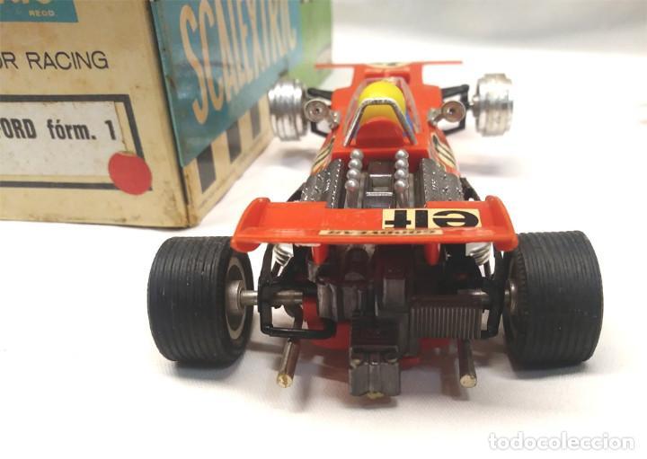 Scalextric: Tyrrell Ford Ref. C 48 rojo de Exin Scalextric años 70, con caja - Foto 4 - 194407413