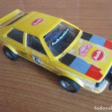 Scalextric: SCALEXCTRIC: COCHE MODELO MODELO AUDI QUATTRO, REF. 4070 , Nº 5 AMARILLO. Lote 194495013