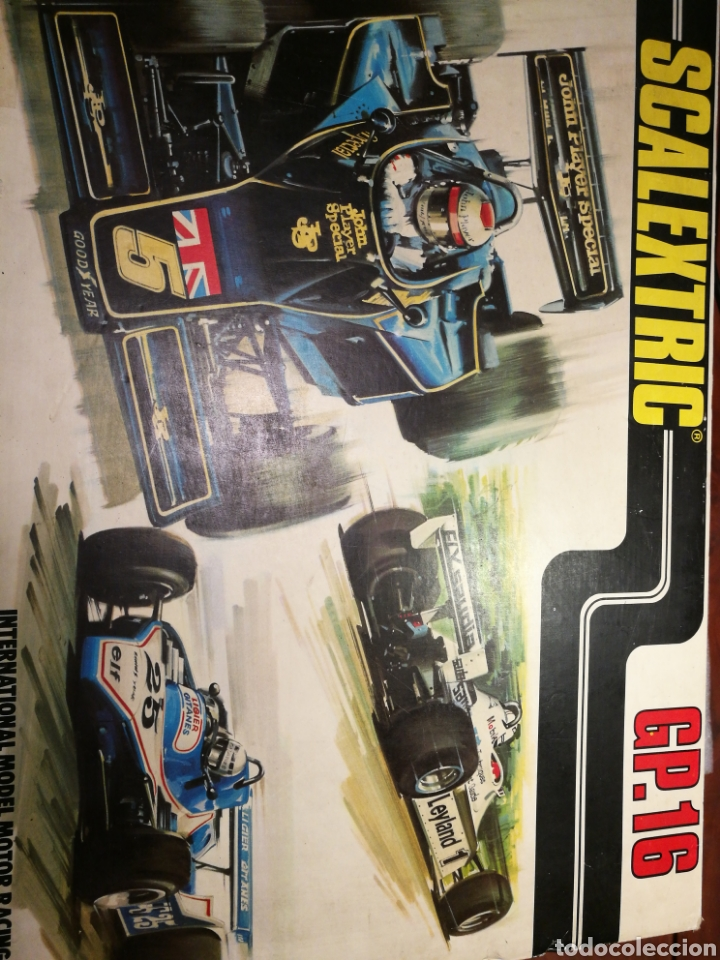 SCALEXTRIC GP16 (Juguetes - Slot Cars - Scalextric Exin)