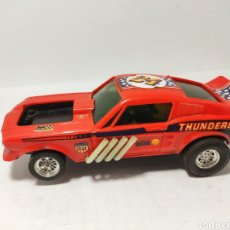 Scalextric: SCALEXTRIC FORD MUSTANG DRAGSTER EXIN ROJO. Lote 194531945