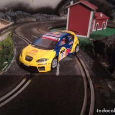 Scalextric: SCALEXTRIC SEAT LEON RED BULL. Lote 194581783
