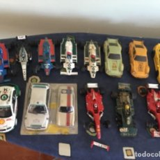 Scalextric: LOTE COCHES DE SCALEXTRIC + DOCUMENTOS CLUB . Lote 194724072