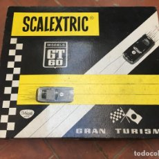 Scalextric: CAJA SCALEXTRIC EXIN CIRCUITO GT 60 . Lote 194724347