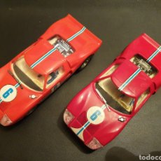 Scalextric: SCALEXTRIC EXIN FORD GT ROJO CLARO. Lote 194747000