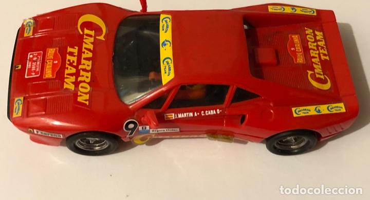 SCALEXTRIC EXIN FERRARI GTO CIMARRON ORIGINAL (Juguetes - Slot Cars - Scalextric Exin)