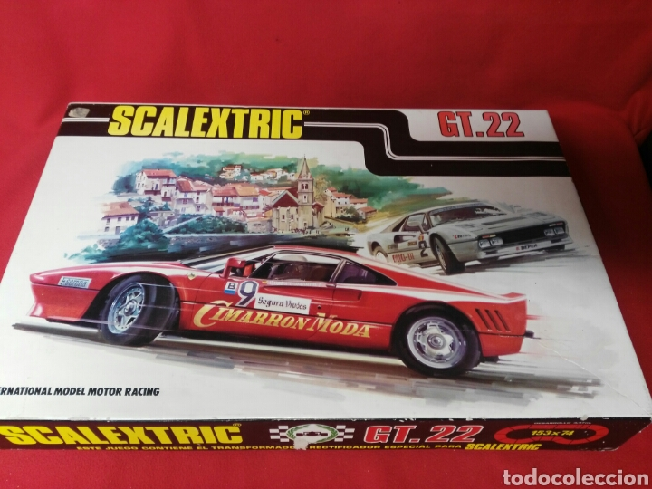 SCALEXTRIC GT.22 (Juguetes - Slot Cars - Scalextric Exin)