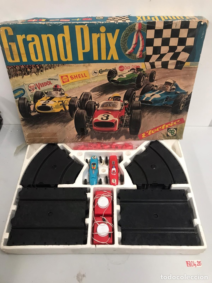 ANTIGUO GRAND PRIX ESCALEXTRIC (Juguetes - Slot Cars - Scalextric Exin)