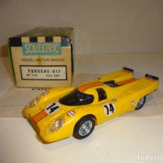Scalextric: SCALEXTRIC. EXIN. PORSCHE 917 AMARILLO CON CAJA ORIGINAL. REF. C-46. Lote 195330511