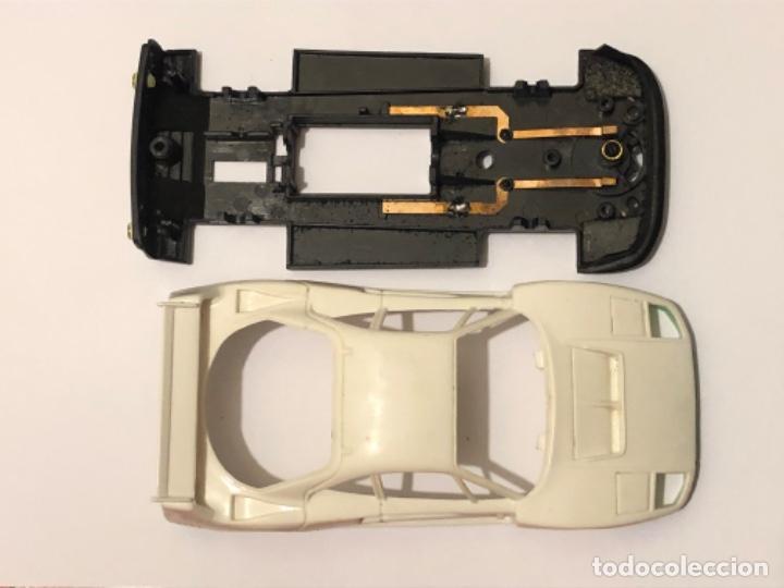 SCALEXTRIC FERRARI F40 DESGUACE DESPIECE CHASIS CARROCERIA (Juguetes - Slot Cars - Scalextric Exin)