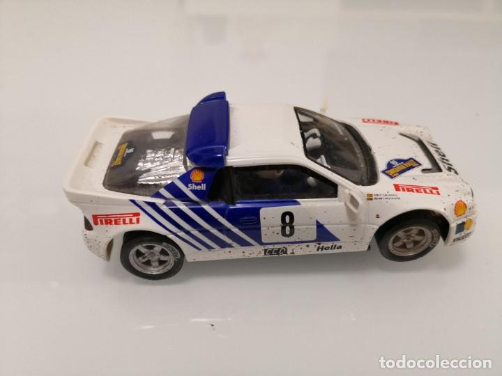 Scalextric: FORD RS200 RS 200 EFECTO BARRO SCALEXTRIC COLECCION ALTAYA PLANETA - Foto 2 - 195389462