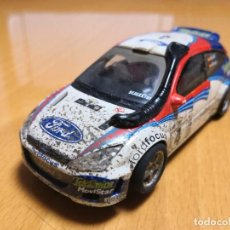 Scalextric: SCALEXTRIC FORD FOCUS WRC SAFARI EFECTO BARRO SAINZ REF 6106. Lote 195389485