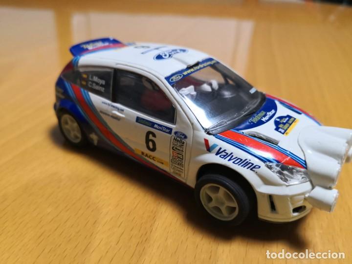 Scalextric: FORD FOCUS WRC DORSAL 6 CARLOS SAINZ - Foto 2 - 195389491