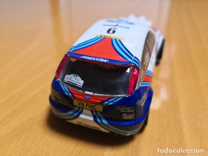Scalextric: FORD FOCUS WRC DORSAL 6 CARLOS SAINZ - Foto 4 - 195389491