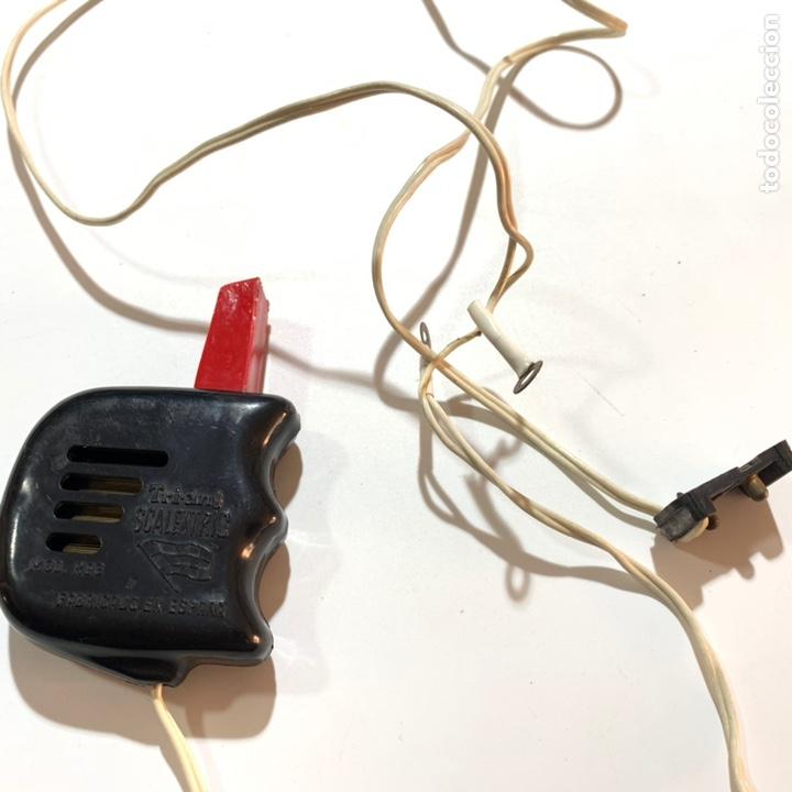 Scalextric: Lote transformador rectificador scalextric Exin tri ang triang mandos negro y rojo - Foto 3 - 195390435