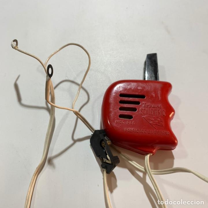 Scalextric: Lote transformador rectificador scalextric Exin tri ang triang mandos negro y rojo - Foto 4 - 195390435