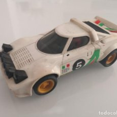Scalextric: LANCIA STRATOS EXIN BLANCO SCALEXTRIC. Lote 195434552