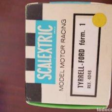 Scalextric: CAJA VACÍA DE FORD TYRRELL REF. 4048 EXIN ORIGINAL. ALGUN DESPERFECTO.. Lote 195451396