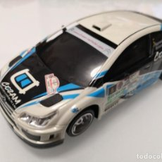 Scalextric: COCHE NINCO. CITROEN C4 WRC. CEZAM. LIGHTNING. REF. 50609 TIPO SCALEXTRIC . Lote 195491845