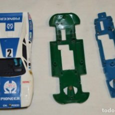 Scalextric: LOTE DE COCHES / PIEZAS VARIADOS ANTIGUAS - SCALEXTRIC EXIN ORIGINAL - MADE IN SPAIN - ¡MIRA FOTOS!. Lote 195767893